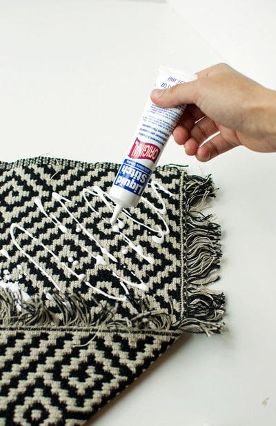 How to make a hanging. Aztec Inspired Diy Wall Banner - Step 1