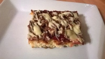 How to bake a bar / slice. Strawberry Coconut Bars - Step 10