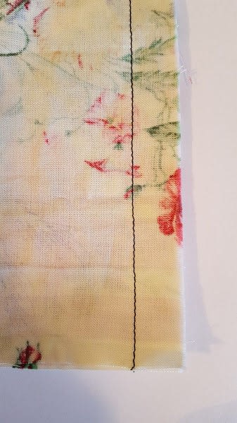 How to sew a seam. How To Sew A Mock French Seam - Step 2