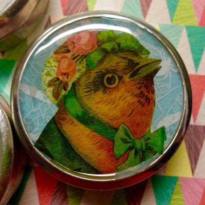 How to make a mint tin for trinkets. Collage Tins - Step 6