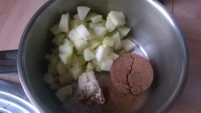 How to make ice cream. Apple Pie Ice Cream - Step 1