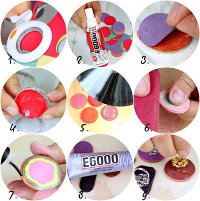 How to make a paper ring. Beautiful Paper Rings - Step 3