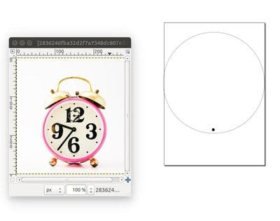 How to make a recycled clock.  Diy Clock Makeover - Step 2