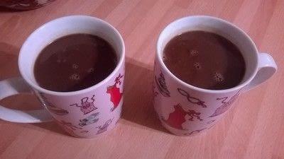 How to make a hot chocolate. Home Made Hot Chocolate  - Step 8