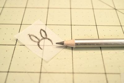 How to make a stamper. DIY Rubber Stamps - Step 1