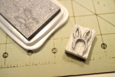 How to make a stamper. DIY Rubber Stamps - Step 7