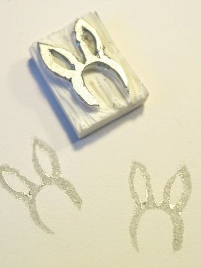 How to make a stamper. DIY Rubber Stamps - Step 8