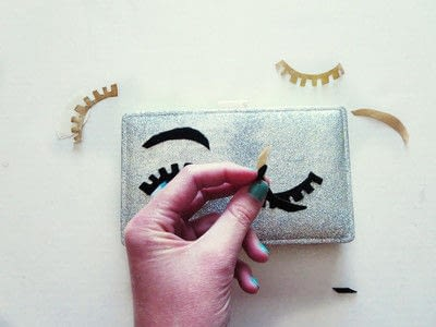 How to make a wallet. D-EYE-Y: Flirty Eyes Wallet  - Step 4
