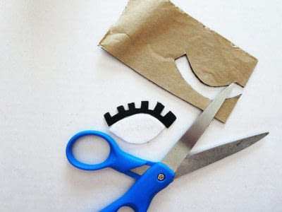 How to make a wallet. D-EYE-Y: Flirty Eyes Wallet  - Step 2