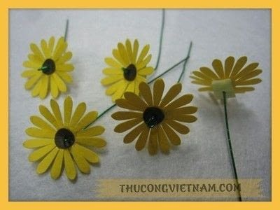 How to make a patterns. How To Make A Flower Pot From Craft Punch!!! - Step 5