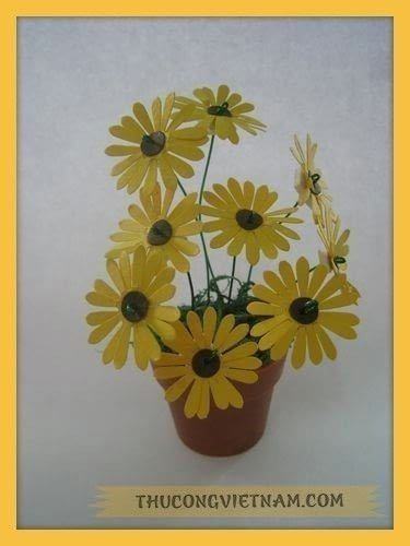 How to make a patterns. How To Make A Flower Pot From Craft Punch!!! - Step 9