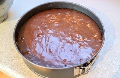 How to bake a sweet pie / sweet tart. Peanutbutter Pie - Step 8