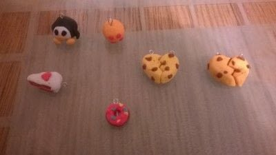 How to sculpt a clay character bracelet. Clay Charm Bracelet & earings  - Step 2