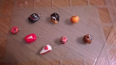 How to sculpt a clay character bracelet. Clay Charm Bracelet & earings  - Step 5