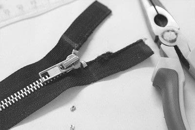 How to sew a zipper. How To Shorten A Metal Zipper - Step 6