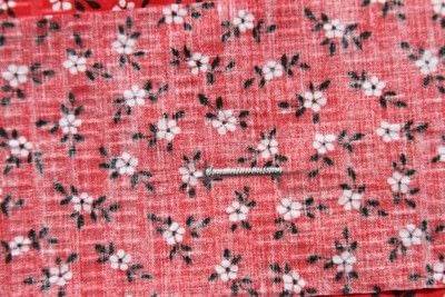 How to sew a buttonhole. Tips On Sewing Buttonholes - Step 5