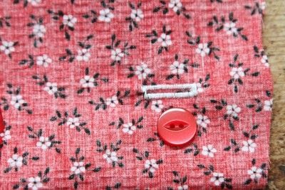 How to sew a buttonhole. Tips On Sewing Buttonholes - Step 7