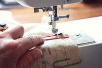 How to sew . Tips On Sewing With Leather. - Step 6