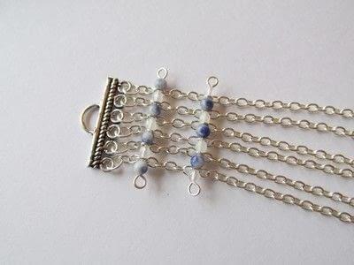 How to bead a woven bead bracelet. Soda N' Shake - Step 3