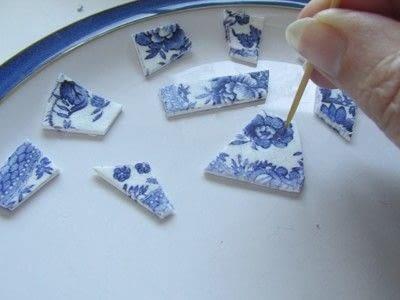 How to sculpt a clay bracelet. Polymer Porcelain - Step 7