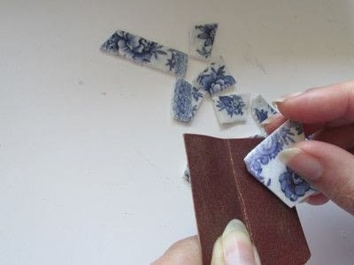 How to sculpt a clay bracelet. Polymer Porcelain - Step 8