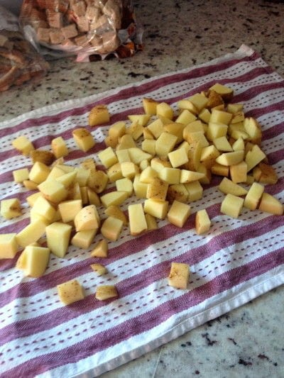How to cook fries. Sarnia Inspired Poutine Boat - Step 1