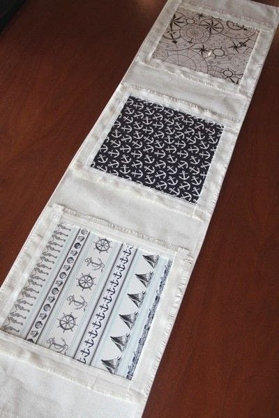 How to make a tablecloth / table runner. Table Runner To Change With The Seasons - Step 8