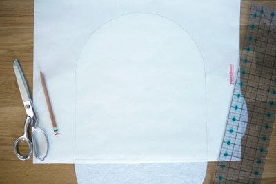 How to make an envelope clutch. Diy No Sew Faux Leather Envelope Clutch - Step 4