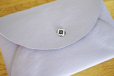 How to make an envelope clutch. Diy No Sew Faux Leather Envelope Clutch - Step 9