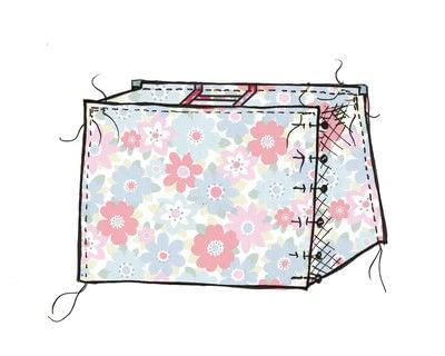 How to make a sewing machine covers. Cath Kidston Sewing Machine Cover - Step 7