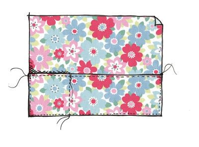How to make a sewing machine covers. Cath Kidston Sewing Machine Cover - Step 8