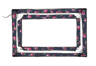 How to make a luggage tag. Cath Kidston Luggage Tag - Step 4