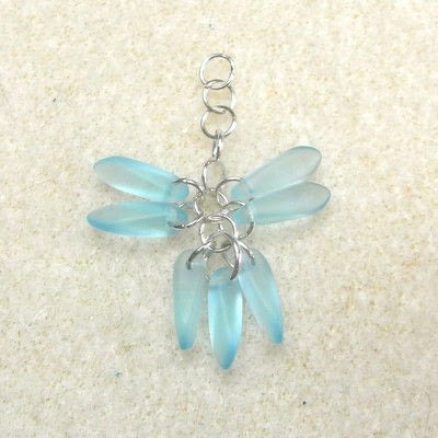 How to make a dangle earring. Dangling Cluster Earrings - Step 5