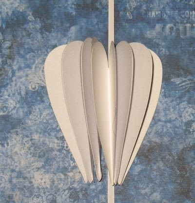 How to make a pop up card. How To Create A Fluttering Heart Pop Up - Step 3