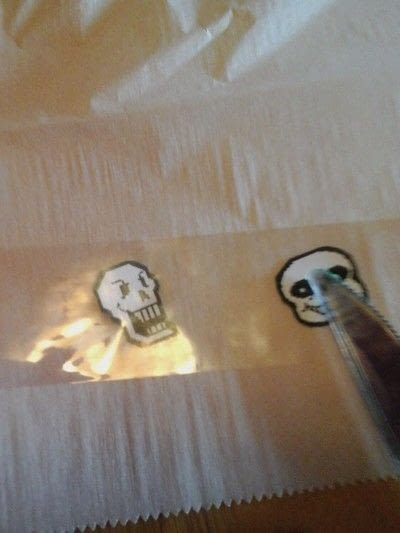 How to make a papercraft. Diy Stickers! - Step 2