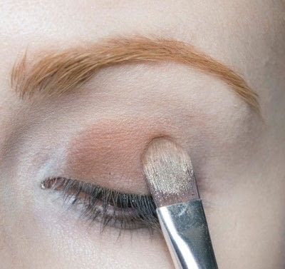 How to create a two toned eye makeup look. Mother Earth Look - Step 2