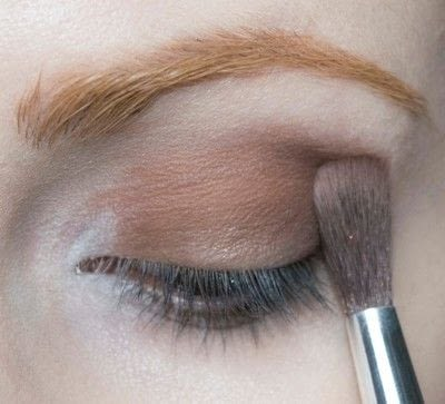 How to create a two toned eye makeup look. Mother Earth Look - Step 3