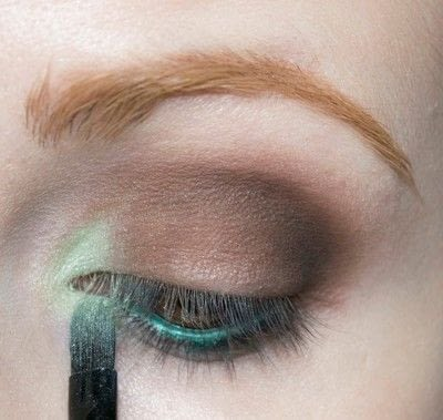 How to create a two toned eye makeup look. Mother Earth Look - Step 5
