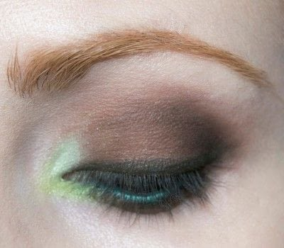 How to create a two toned eye makeup look. Mother Earth Look - Step 8