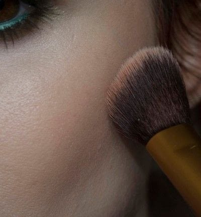 How to create a two toned eye makeup look. Mother Earth Look - Step 13