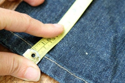 How to hem . Hem Your Own Jeans - Step 2