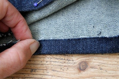 How to hem . Hem Your Own Jeans - Step 5