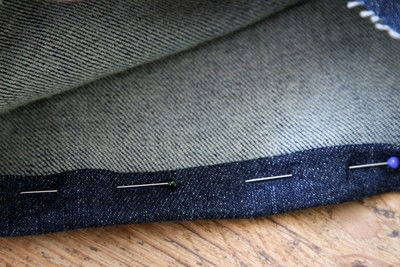 How to hem . Hem Your Own Jeans - Step 6