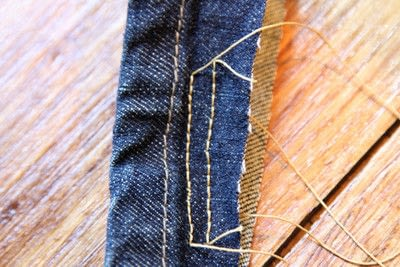 How to hem . Hem Your Own Jeans - Step 7