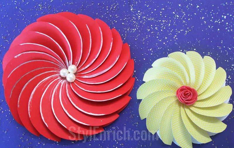 Paper flower cutting demirediffusion how to make easy paper flowers for diy projects how to cut a piece mightylinksfo