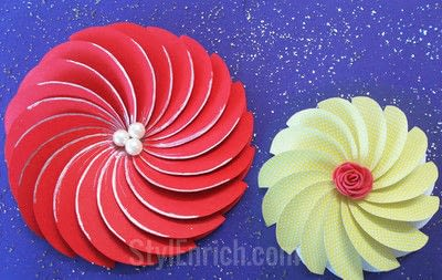 How to cut a piece of papercutting. How To Make Easy Paper Flowers For Diy Projects - Step 4