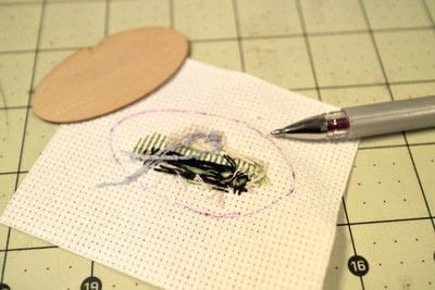 How to make a stitched necklace. Cross Stitch Figaro Necklace - Step 4