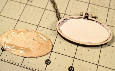How to make a stitched necklace. Cross Stitch Figaro Necklace - Step 6