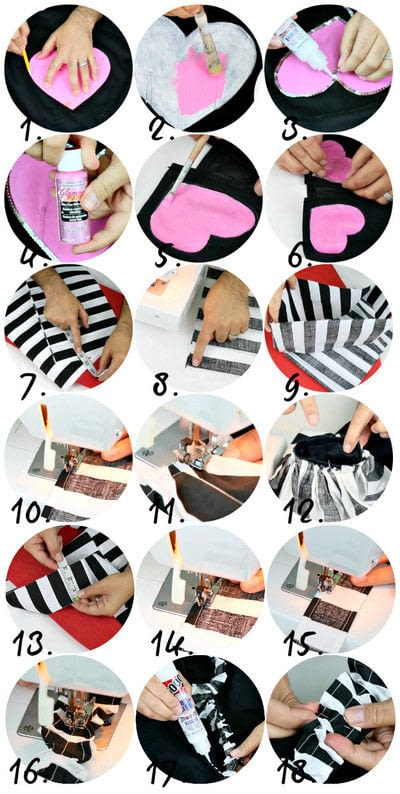 How to make a jacket / coat. Wonderland Jacket Makeover - Step 3