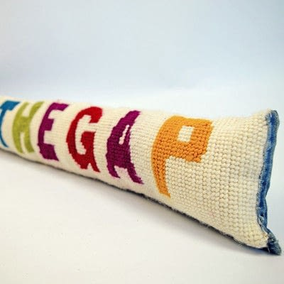 How to make a draft stopper. Funky Diy Draught Excluder - Step 6